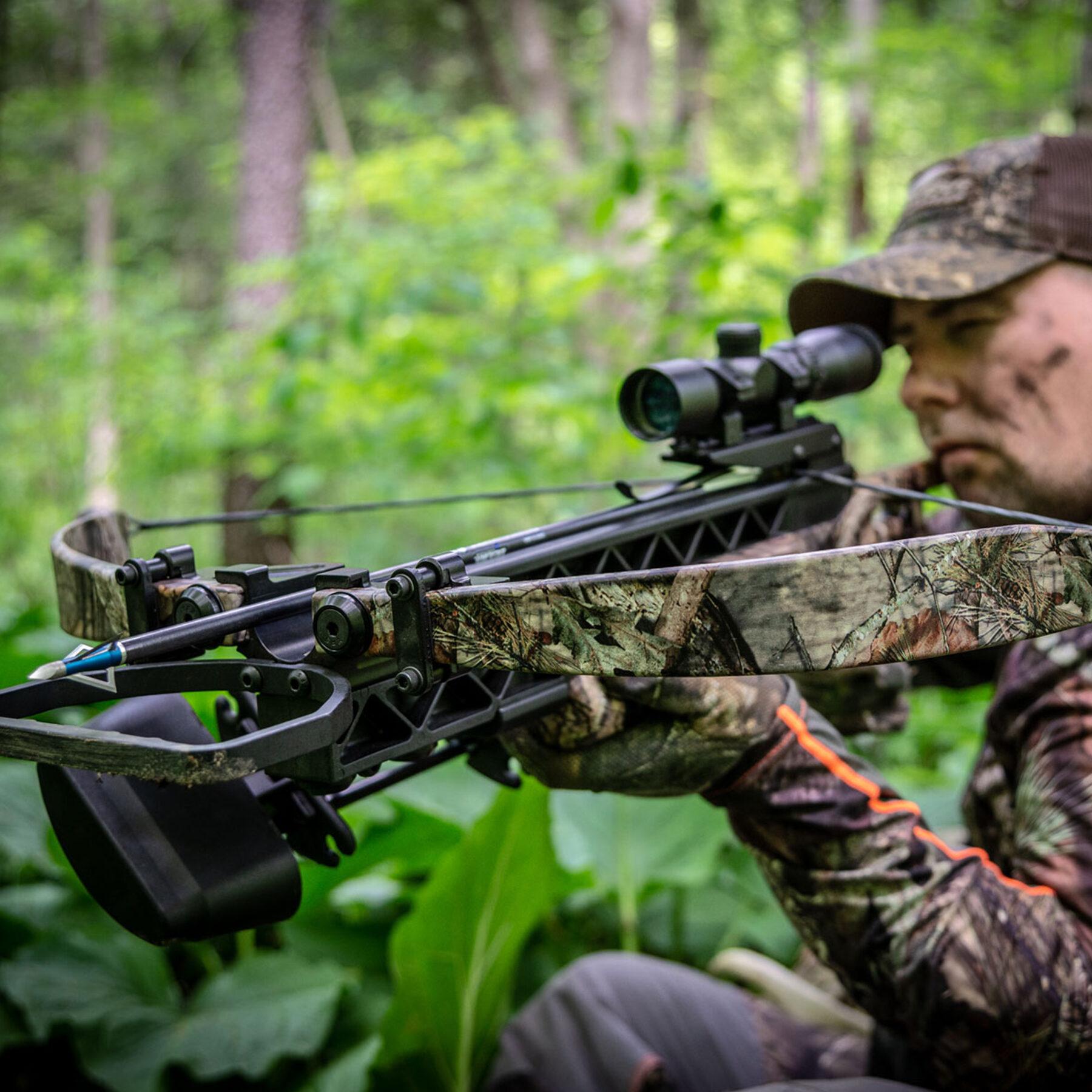 hunter aiming a matrix g340