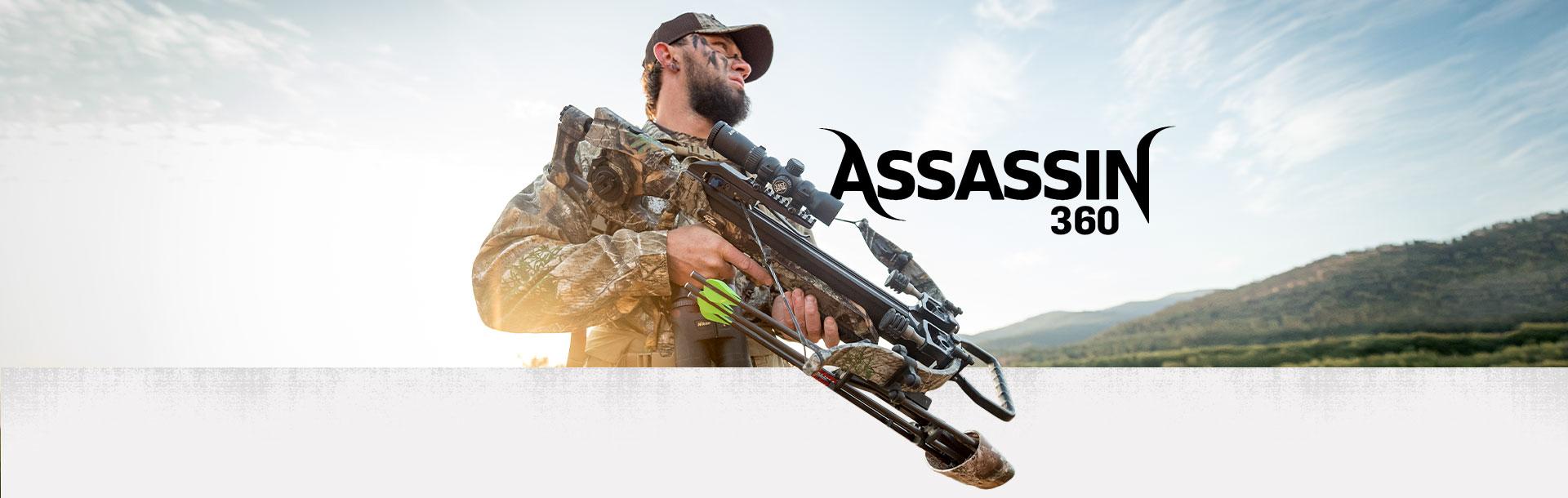 Excalibur Assassin 360 crossbow in camo