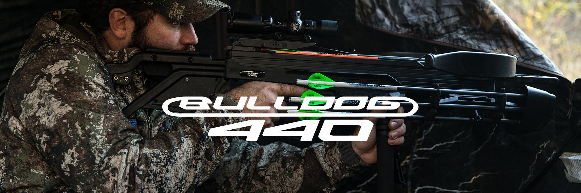 Excalibur Bulldog 440 crossbow in camo