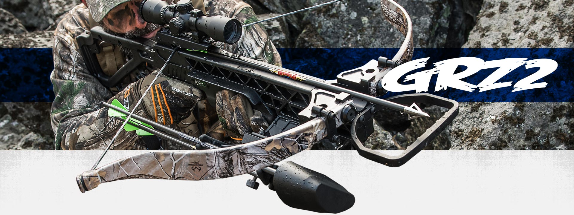 Excalibur GRZ2 crossbow in camo