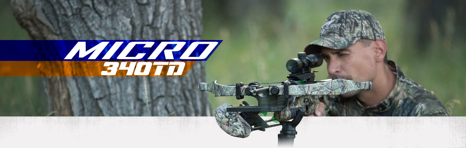 Excalibur Micro 340TD crossbow in camo