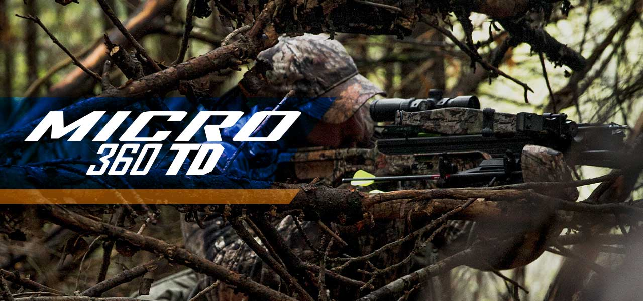 Excalibur Micro 360TD crossbow in camo