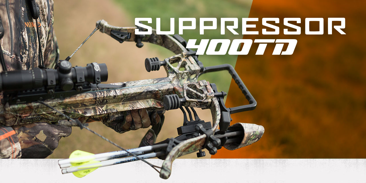 Excalibur Suppressor 400TD crossbow in camo