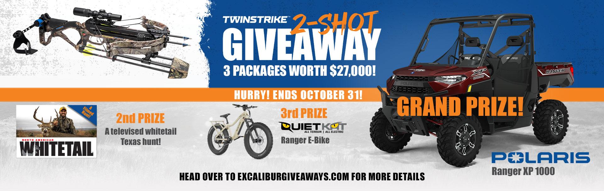 TwinStrike 2-Shot Giveaway