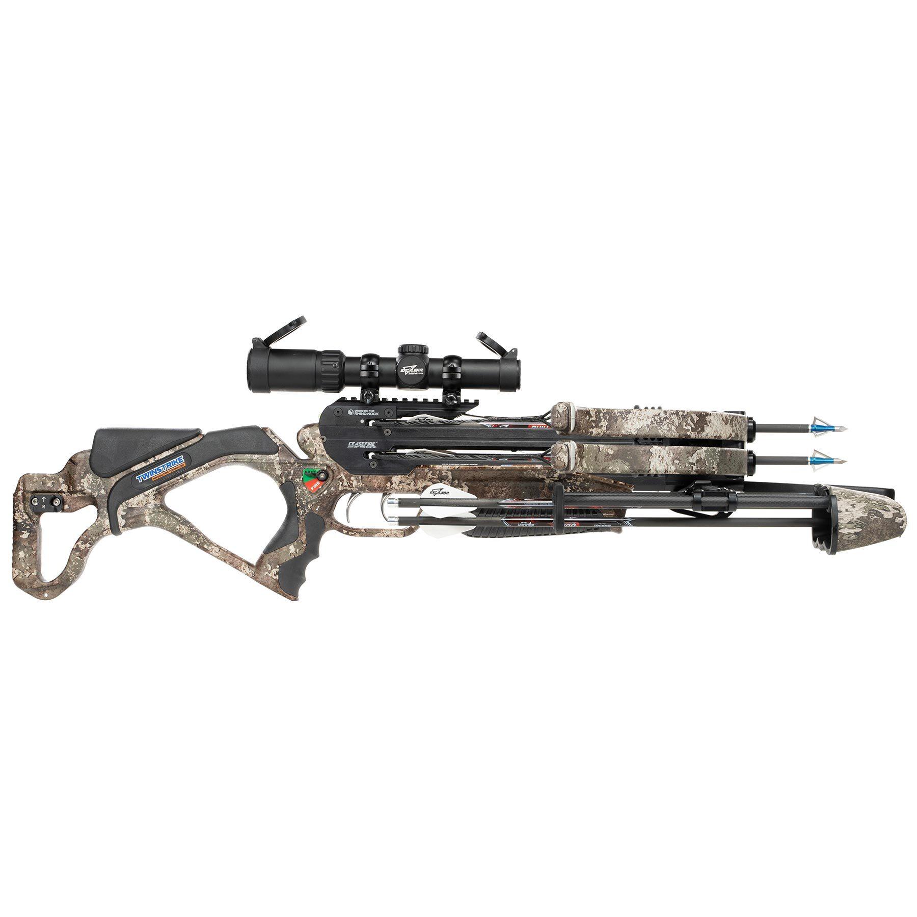 TwinStrike crossbow in Strata camo