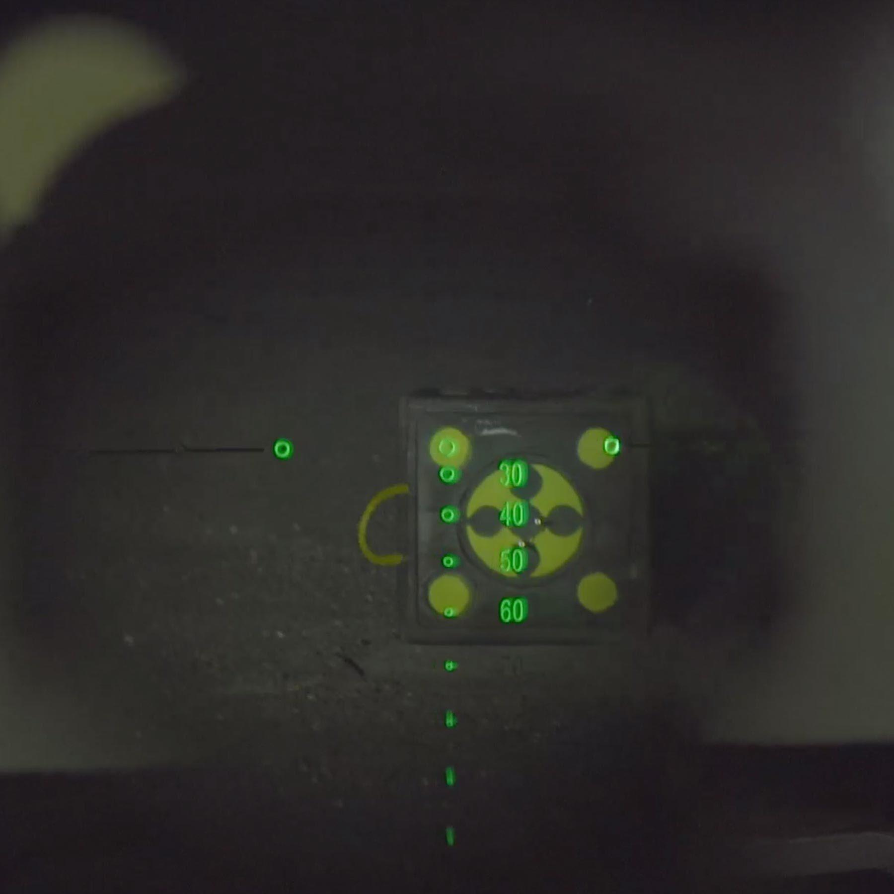 Overwatch Scope illuminated reticle