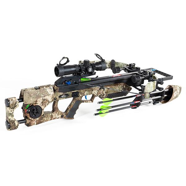 Assassin 360 crossbow in TrueTimber Strata camo