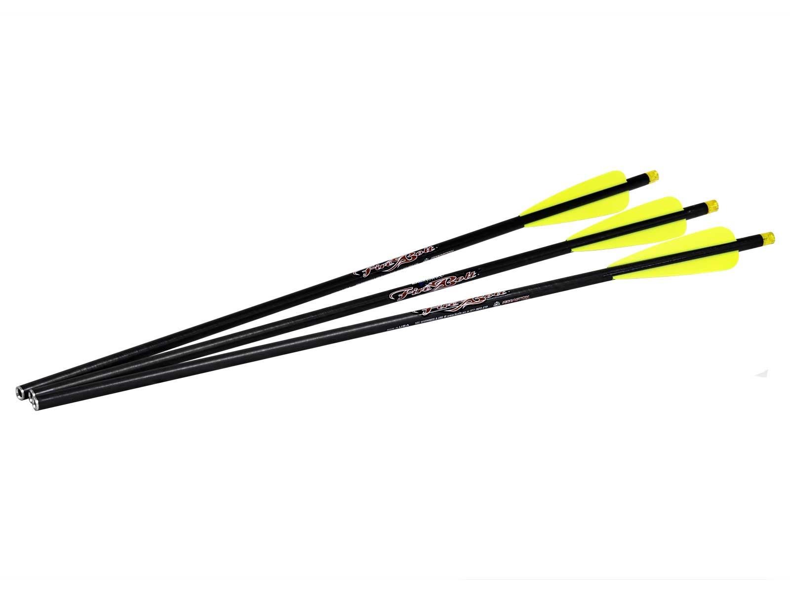 Firebolt Illuminated Carbon Arrow 3pk