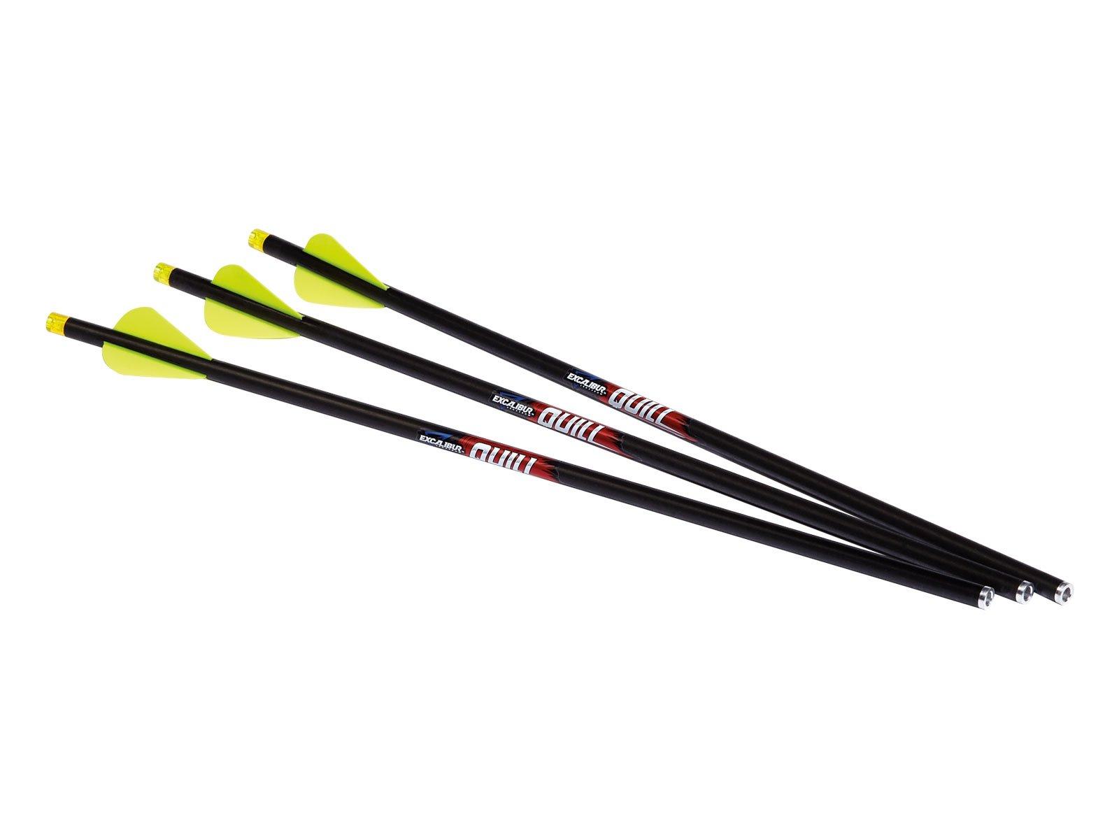 Quill 16.5 Illuminated Carbon Arrow 3pk